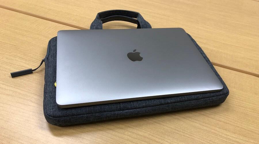 MacBookProで比べると超ベストサイズ