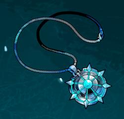 世紀末デイズ:白金製のネックレス星5装具