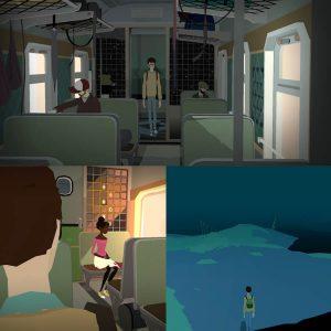 引っ込み思案の主人公ロウが電車の中である一人の女の子に恋をする、うまく言葉で伝えきれないロウの精神世界をゲームに落とし込んだアドベンチャーゲーム