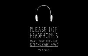 ヘッドフォン推奨