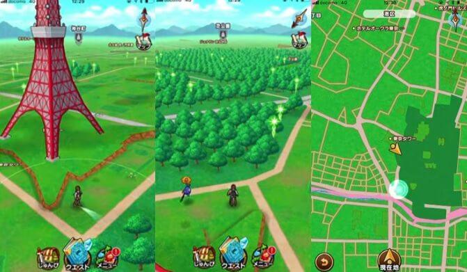 位置情報を使って実際の街をフィールド化