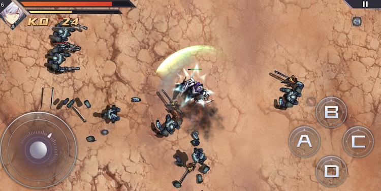 「模擬作戦」でアクションゲームとして楽しめる