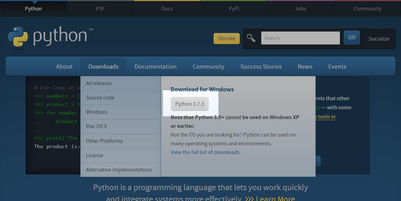 pythonを独学で勉強する「②:Pythonのインストールと確認」