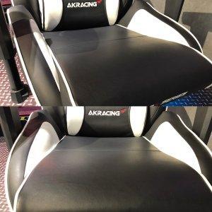「AKRacing Pro-X」は座面が広くゆったり座れる