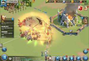 ライズオブキングダム 攻城・防衛