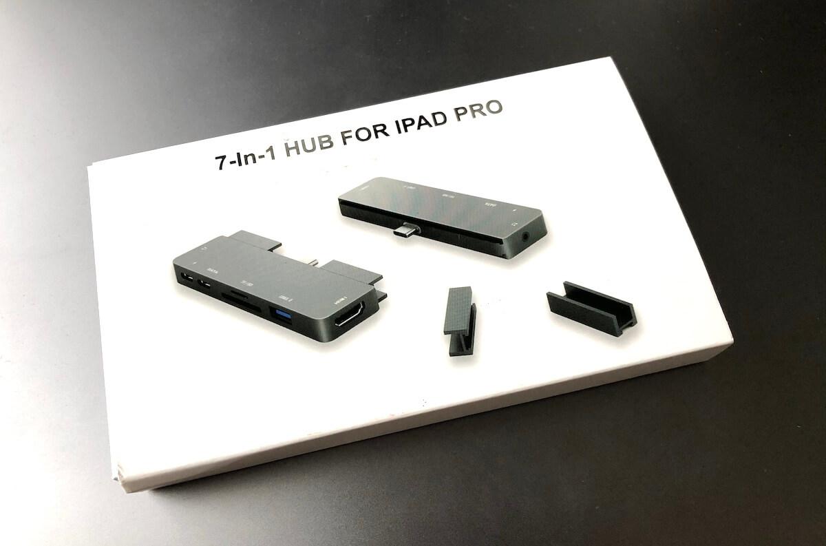 iPad Proで充電+イヤホンの同時利用ができる神ガジェット①:開封の儀「Amazonで購入」