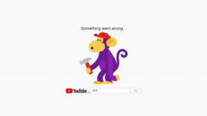 「something went wrong...」が表示されYouTubeで動画が見れない